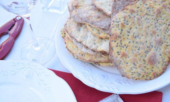 Knäckebröd med dill och Västerbottensost