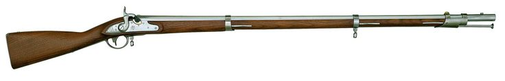 1816 Harper's Ferry .69 Caliber Flintlock Musket  The Model 1816 Musket was originally produced at Harper's Ferry Arsenal and the Springfield Armory Arsenal. They were produced between 1816 and 1844 copying the design of the 1777