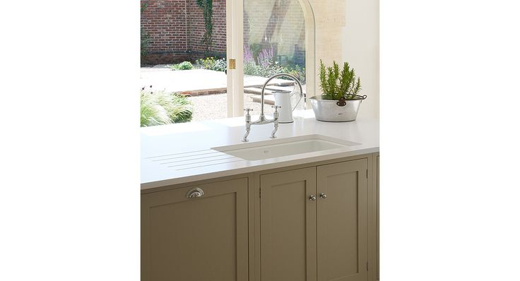 Shaker Island With Sink