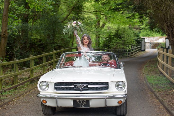 White 1965 Ford Mustang Convertible Wedding Car Hire In Northern Ireland Awesom Mustang Convertible Ford Mustang Convertible Wedding Car