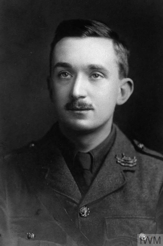 WWI, 28 April 1917, Lt Ronald H E Rose was killed in action at Arras. ©IWM HU 125165
