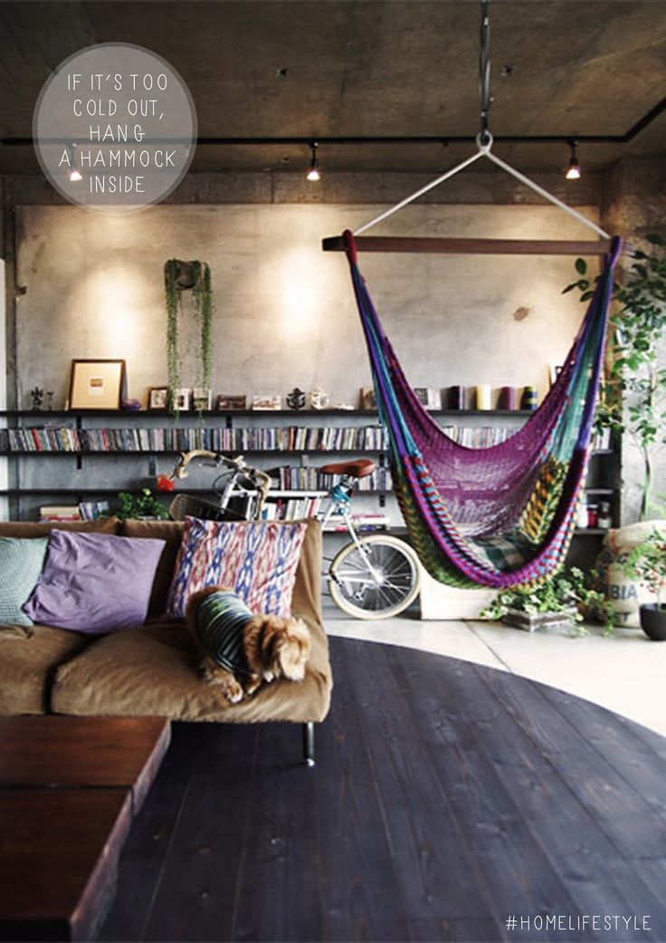 Unidentified Lifestyle by Maria Matiopoulou: Styling recipe: Indoor Hammocks