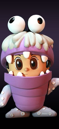 Favorite cute character     Boo (Monster Version) - Monsters Inc. Cosbaby (s) Series