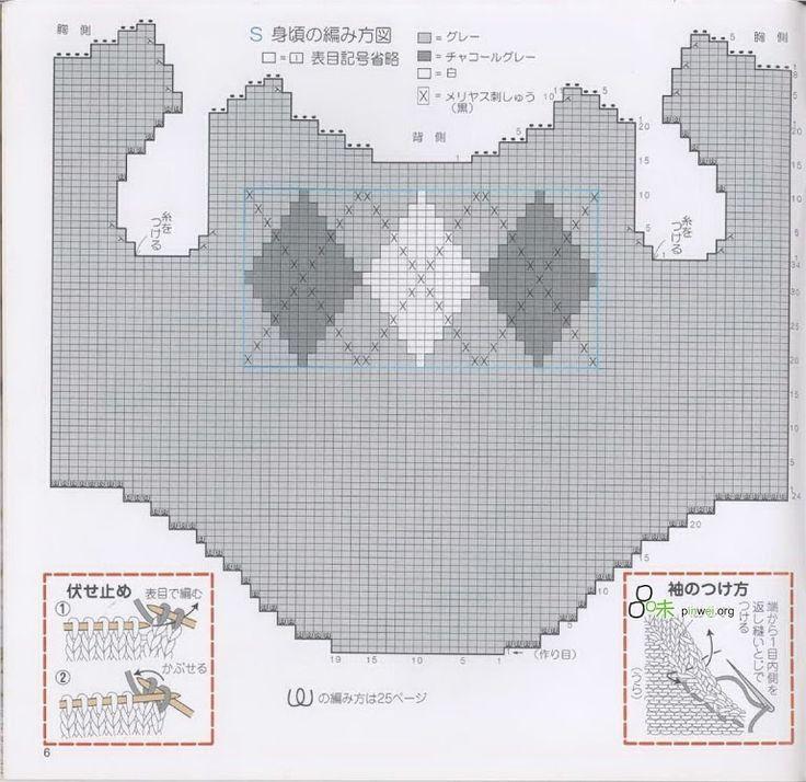 Foto: 39 st ruit per ruit 13st eerst 24st patroon breien dan 3x 13 ruit breien in totaal 39st dan weer 24st patroon breien