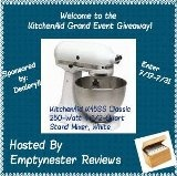 Linkies Contest Linkies: Rafflecopter Giveaway - Win A Kitchenaid 4.5 QT White Stand Mixer - USA & CANADA