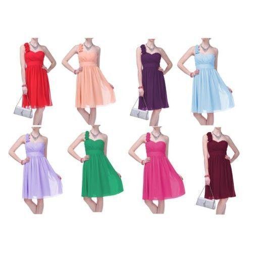 38.33$  Watch here - http://viobz.justgood.pw/vig/item.php?t=8jscod31806 - Festliches Kleid Elegant Einschultrig Gerüscht Blume 38.33$