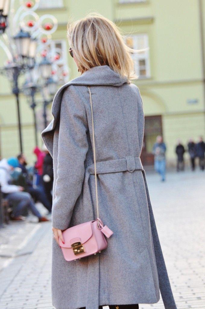 style, fashion, stylizacja, Mango, grey, szary, Furla, bag,
