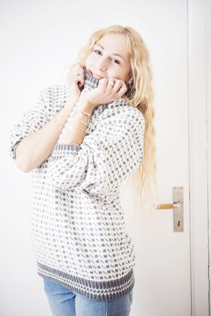 Jonna Jinton, fiskartröja / lusekofta