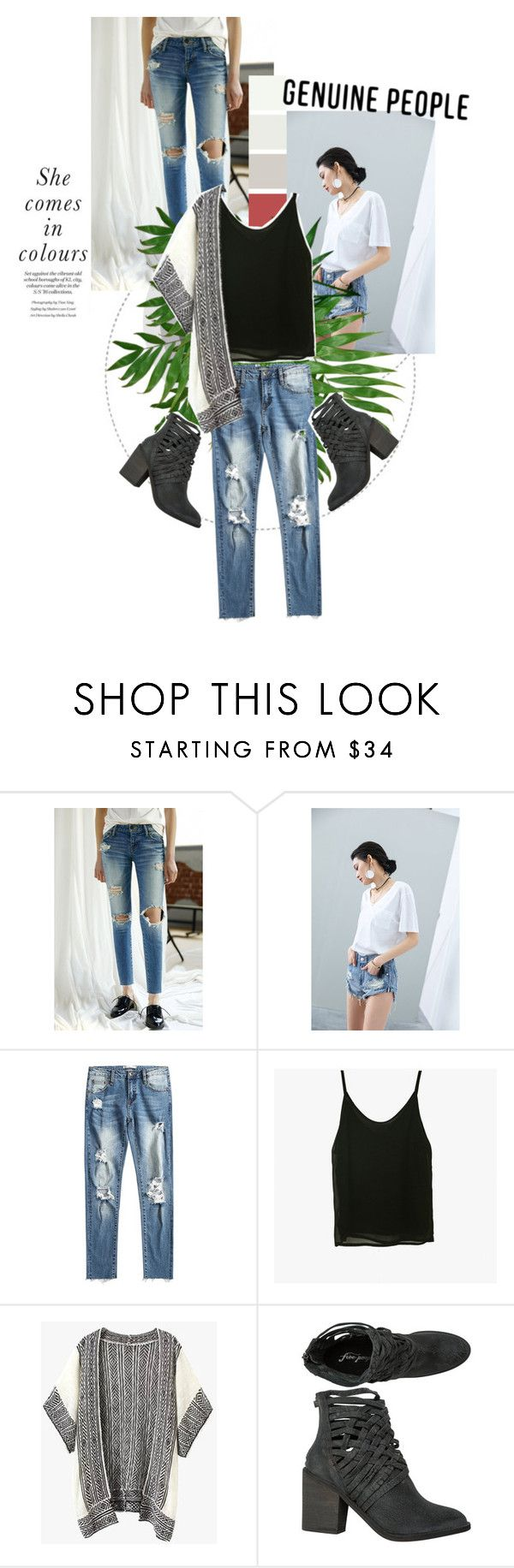 """""""white sheets, bright lights"""" by fernweeh on Polyvore featuring moda i Free People"""
