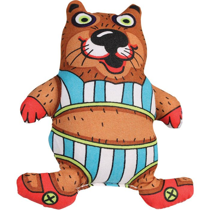 The fun Bathing Beaver dog toy is perfect for indoor
