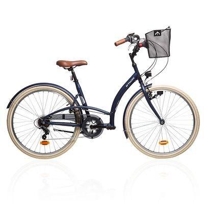 VELO Velos Vélos, cyclisme - VELO VILLE ELOPS 320 BLEU B'TWIN - Vélos