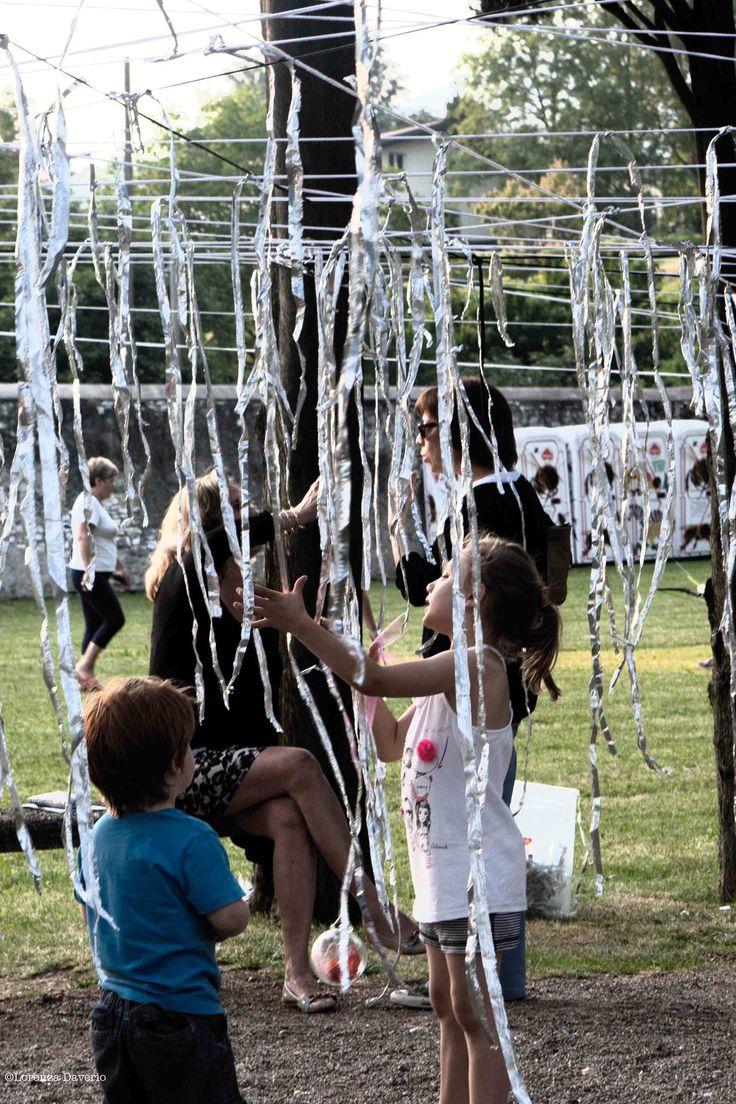 Installazione ReMida al Festival Micromondi