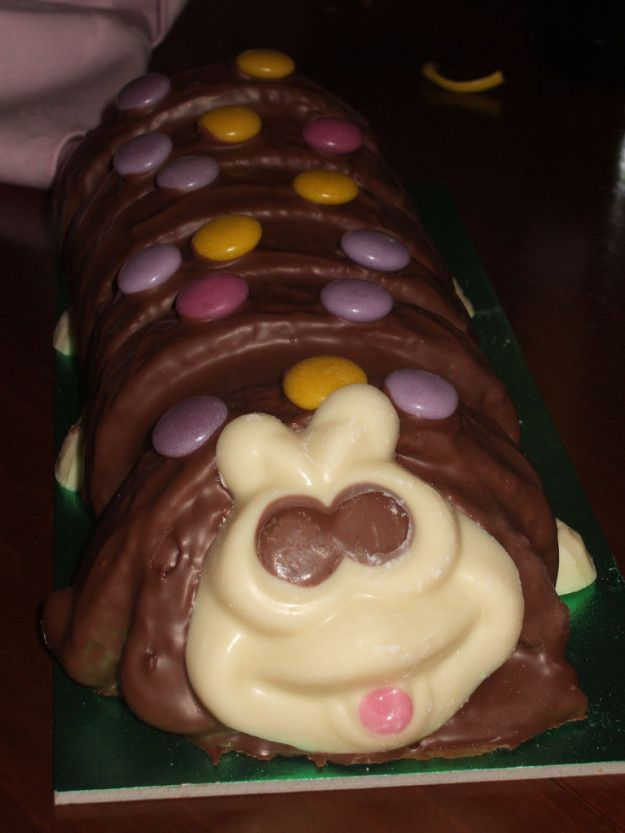Colin the Caterpillar Cake   23 British Party Foods The World Is Missing Out On