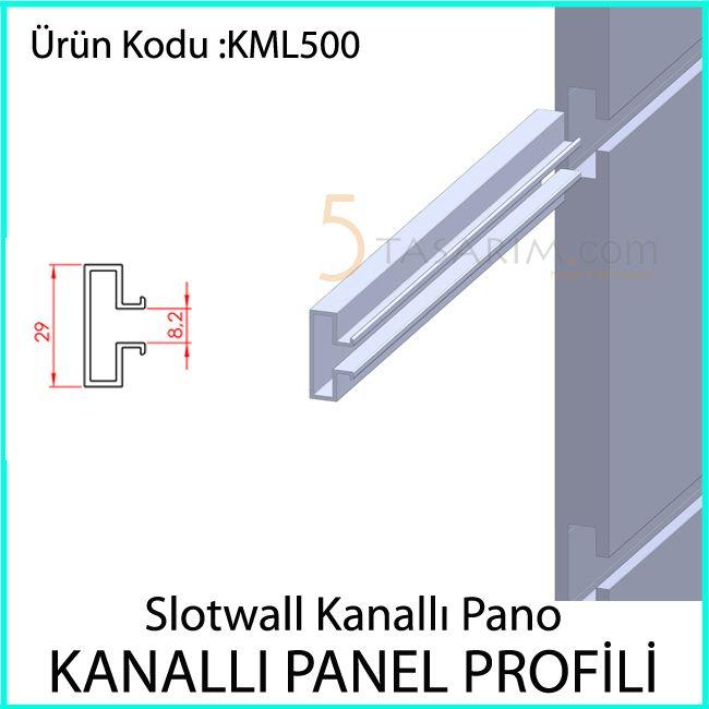 kanallı panel profili KML500