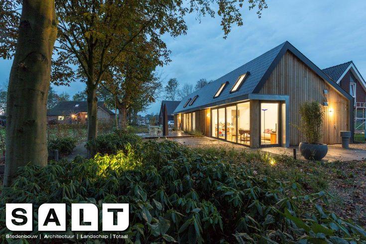 moderne duurzame schuurwoning #veghel #architectuur #schuurwoning #duurzaam #natuurlijk #buroSALT