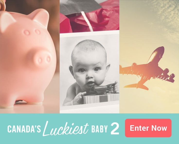 We're looking for Canada's Luckiest Baby. Enter now for your chance to win a $10,000 RESP, a $1500 Shopping Spree at snugglebugz.ca, $5000 in travel vouchers from Travel nation Canada and many  more amazing prizes being added all the time! http://canadasluckiestbaby.com #CLB2