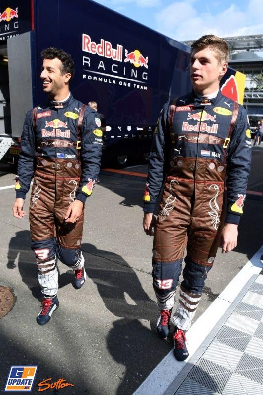 Daniel Ricciardo, Max Verstappen, Red Bull, Formule 1 Grand Prix van Oostenrijk 2016, Formule 1