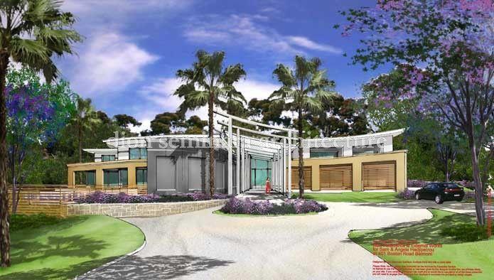 Planned New Home Belmont | dion seminara architecture