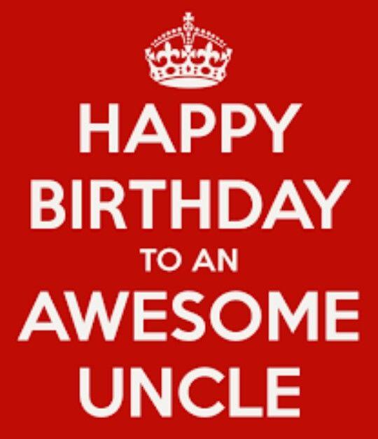 Best 25 Happy birthday uncle ideas on Pinterest