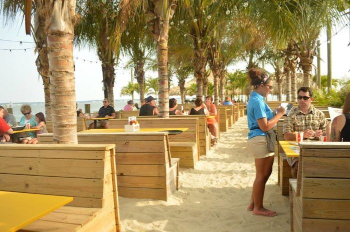 You know you found the best beach bar in Delaware when you can dine right on the sand. There's nothing quite like it.