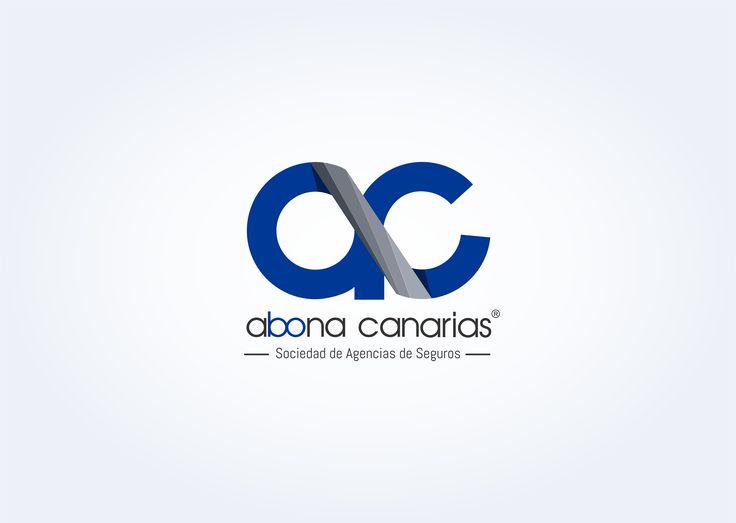 Marca creada para la Sociedad de Agencia de Seguros Abona Canarias   #branding #marcas #identidadcorporativa #diseñografico