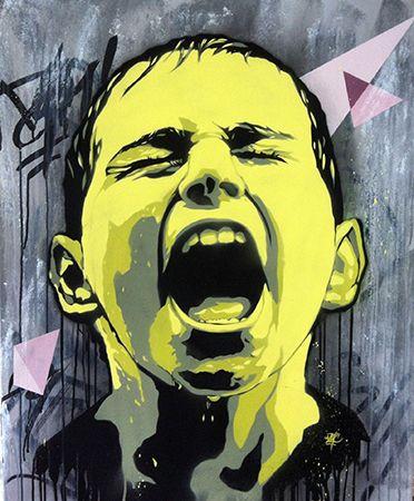 Angry Boy by Viza (France)