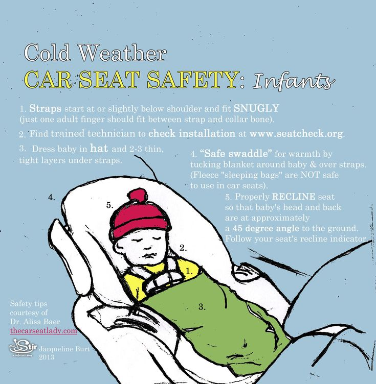 Car safety for infants