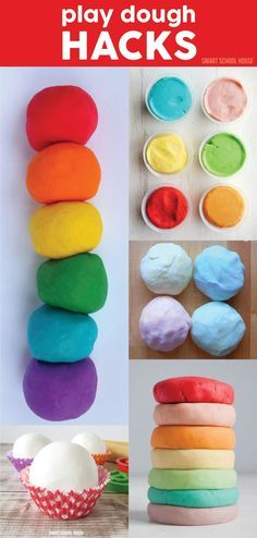 PLAY DOUGH HACKS. Play dough is a fun activity for the kids. Here are some great tips and tricks.