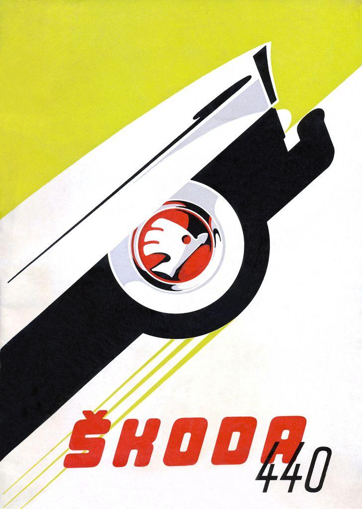 MOTOKOV Brochure ŠKODA 440 Advertisment Collection (1956)