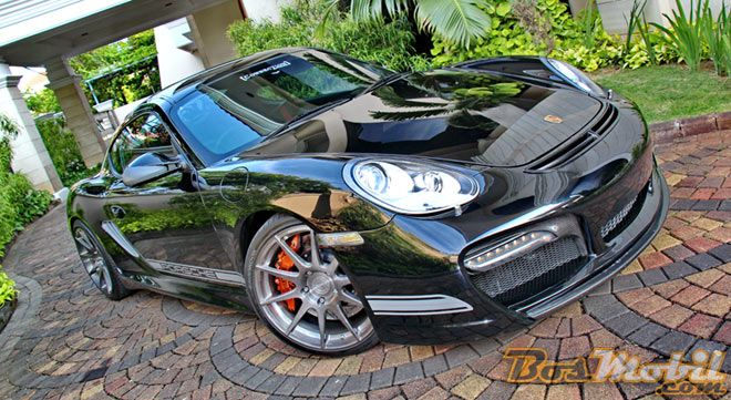 Modifikasi Porsche Cayman : Batman More Classy With TechArt #info #BosMobil