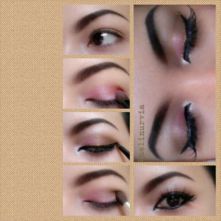 makeup ku.. nyoba nyoba makeup..