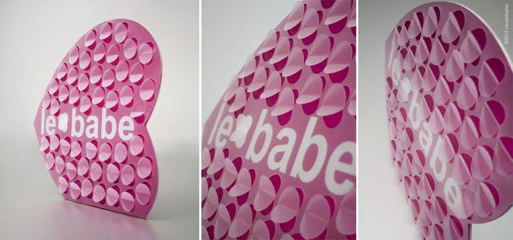 logo plaque Le Babe