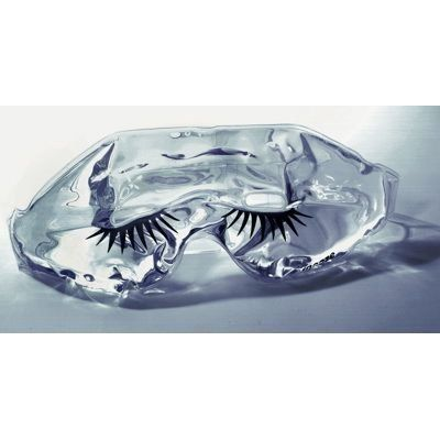 Kingsley Gel Eye Masque with Eyelash Imprint - Clear by Kingsley. $4.59