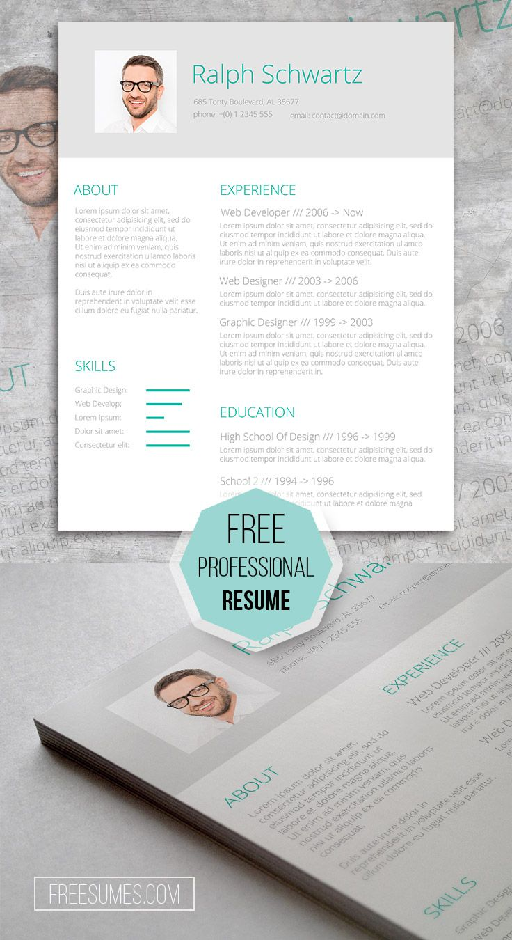 17 best images about resume templates for word cv template the mini st green a professional resume template that display your working experience