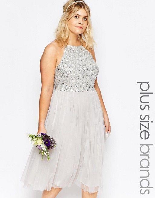 51 best Silver bridesmaid dresses images on Pinterest   Bridesmaids ...