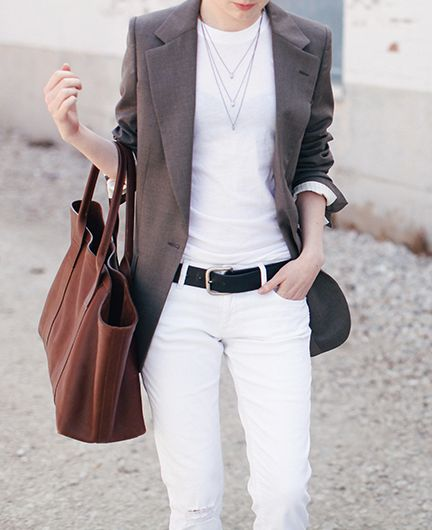 White and neutrals, via LA COOL & CHIC