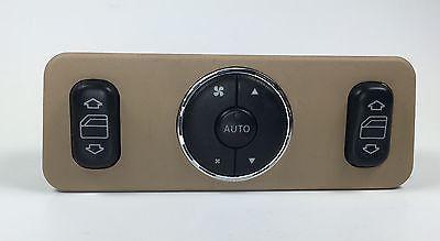 2002-05 Mercedes Benz ML 320 350 500 Rear Power Window Switch BROWN A1638200326