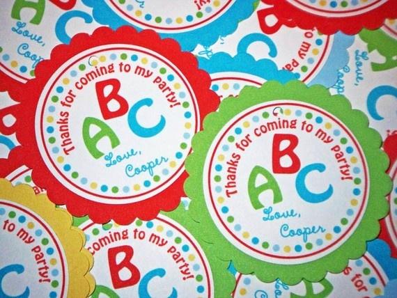 Abc Party Favors: 38 Best Images About Alphabet Party On Pinterest