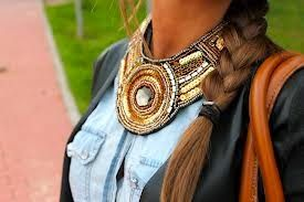 MushRoom Accesorios: SAY WHAT!? How do I wear this?  #MaxiCollares #Necklace #Collares #HowToWear #Maxi