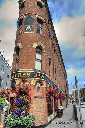 Bittles Bar – Belfast, Northern Ireland....If ever I get the chance ...I want to have a few beers here and talk bull with the regulars....custer7thcav