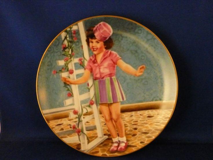 "Little Rascals ""Darla's Debut"" Porcelain Collector Plate - Hamilton Collection"