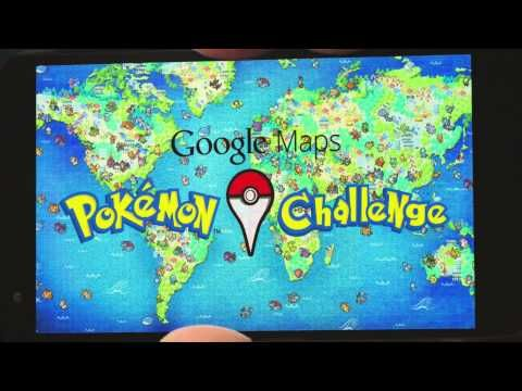 """The """"Google Maps Pokémon Challenge"""" 