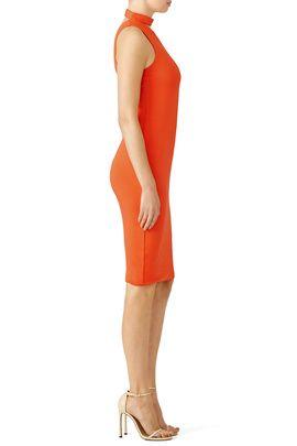 Orange Casablanca Dress by Bailey 44