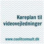 Køreplan til videovejledninger, www.coolitconsult.dk