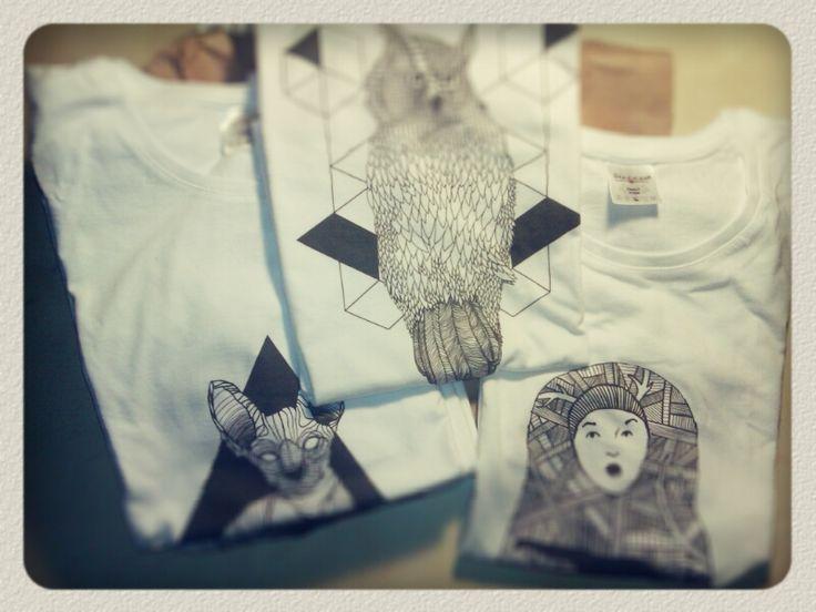#karolinapepinowska #pepino  #art #illustration #T-shirt https://www.facebook.com/Pepinowska