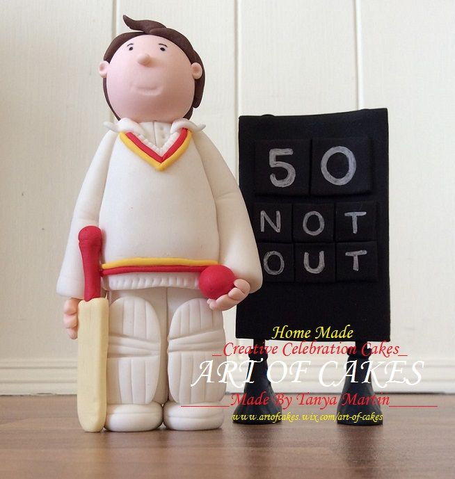 Cake Decorating Cricket Figures : 50 best images about Cricket cakes on Pinterest Cricket ...