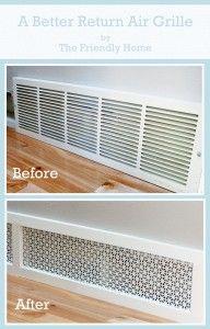 Amazing Easy DIY Home Decor Ideas- pretty air grill