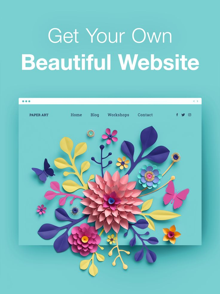 Choose a designer-made template to start, and create your own stunning website now.