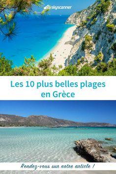 Les plus belles plage de Grèce ! Préparez votre prochain voyage en ajoutant toutes ses plages à votre itinéraire #Grèce #greece #plage #plagegrecque #beach #beachday #europe #eurotrip