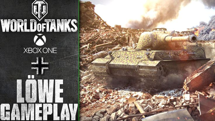 World of Tanks Xbox One: Löwe | Serene Coast  | Gameplay